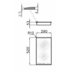 FOSTER - 7322231 beépíthető indukciós főzőlap, 9 fokozatos FOSTER - Beépíthető készülékek