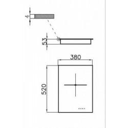 FOSTER - 7321240 beépíthető indukciós főzőlap, 9 fokozatos FOSTER - Beépíthető készülékek