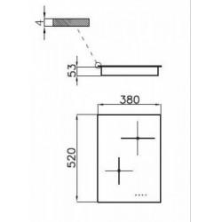 FOSTER - 7322240 beépíthető indukciós főzőlap, 9 fokozatos FOSTER - Beépíthető készülékek