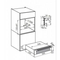 FOSTER - 7138000 beépíthető melegentartó fiók FOSTER - Beépíthető készülékek