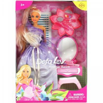 Defa Lucy baba fésülködőasztallal - többféle változatban - Defa Lucy babák és kiegészítők