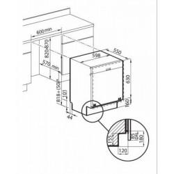 FOSTER - 2940001 beépíthető mosogatógép FOSTER - Beépíthető készülékek