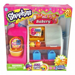 Shopkins - Kosárlakók: Pékség játékszett - 1. évad - Shopkins játékok - Lányos játékok