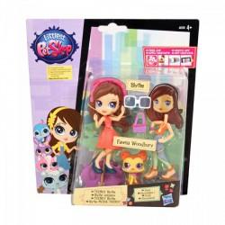 Littlest PetShop - Blythe és a divat - Blythe és Fawna Woodbury - Hasbro játékok - Hasbro játékok