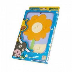 Wader - Mozgó barátok bébipuzzle - virág - Wader játékok - Bébijátékok