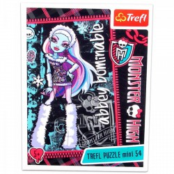 Monster High - 54 db-os miniatűr puzzle - Abbey Bominable Játék - Kirakók, puzzle-ok