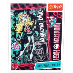 Monster High - 54 db-os miniatűr puzzle - Lagoona Blue - Monster High babák, játékok - Kirakók, puzzle-ok