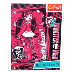 Monster High - 54 db-os miniatűr puzzle - Draculaura Játék - Kirakók, puzzle-ok