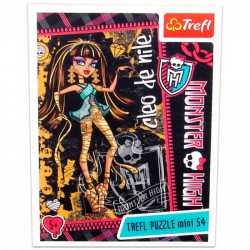 Monster High - 54 db-os miniatűr puzzle - Cleo de Nile - Monster High babák, játékok - Kirakók, puzzle-ok Monster High