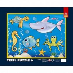 Trefl - 6 db-os keretes puzzle - Az óceánban (31076) - PUZZLE játékok - Kirakók, puzzle-ok
