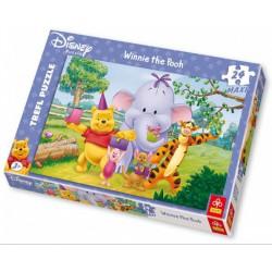 TREFL - 24 db-os Maxi puzzle - Zelefánt szülinapja (14085) - PUZZLE játékok - Kirakók, puzzle-ok