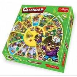 TREFL - Calendar Puzzle (39050) - 24 db-os oktató puzzle - PUZZLE játékok - Kirakók, puzzle-ok