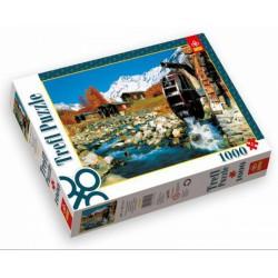 TREFL Lötschen-völgy, Svájc 1000 db-os puzzle - TREFL puzzleok - Kirakók, puzzle-ok