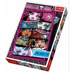 TREFL - 100 db-os puzzle - Monster High szörnysuli (16203) - PUZZLE játékok - Kirakók, puzzle-ok