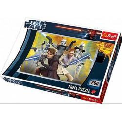 TREFL Star Wars - A Klónok háborúja 260 db-os puzzle - TREFL puzzleok - Kirakók, puzzle-ok