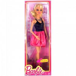 Barbie - Dreamhouse divatos babák - Barbie elegáns partiruhában Játék - Barbie babák