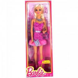 Barbie - Dreamhouse divatos babák - Barbie rózsaszín bulizós ruhában Játék - Barbie babák