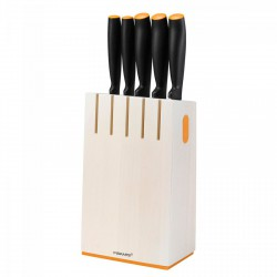 Fiskars Késblokk, 5 késsel, új Functional Form (fehér) (102639) késkészlet - FISKARS kések - Fiskars Fiskars