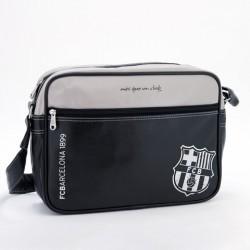 Barcelona közepes oldaltáska fekete - 92846593 FC BARCELONA - ISKOLATÁSKA, SPORTTÁSKA, HÁTIZSÁK