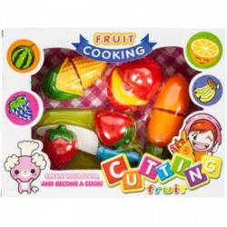 Műanyag vágható gyümölcsök, zöldségek III. Játék Játék