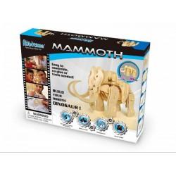 Fa robotdínó építő - Mamut - Tudomány és kreatív játék