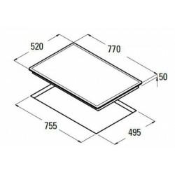 NODOR - IMD 750 beépíthető kerámialap Műszaki - Beépíthető készülékek