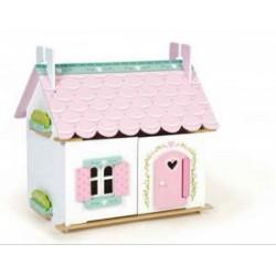 Le Toy Van Lily fa háza 35x42x44cm, fajáték - Fajátékok lányoknak - Fajátékok Le Toy Van