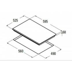 Nodor - IBS 46 AG indukciós kerámialap NODOR - Beépíthető készülékek