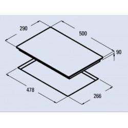 CATA - GI 302 beépíthető domino főzőlap - Beépíthető készülékek
