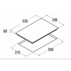 CATA - IB 302 BK beépíthető domino főzőlap + ajándék bortartó - Beépíthető készülékek
