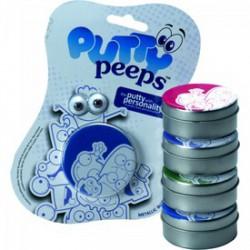 Putty gyurmalin szemmel 5 féle metál szín, 50 g/db - Putty intelligens gyurmák - Gyurmák Putty