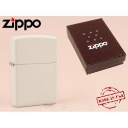 Zippo - öngyújtó matt fehér -Nyugdíjbavonulási ajándék - Dohányosoknak meglepik