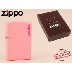 Zippo - öngyújtó matt rózsaszín -Nyugdíjbavonulási ajándék - Dohányosoknak meglepik