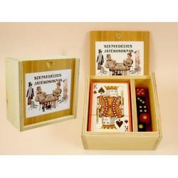 Kártyadoboz szenvedélyes játékosoknak - vicces ajándék Ajándéktárgy - Vicces meglepik