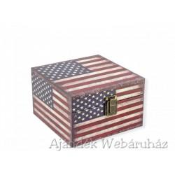 Díszdoboz amerikai kocka 16x16cm -Díszdobozok - Díszdobozok