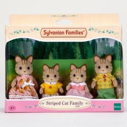 Sylvanian Families - Csíkos cica család - Sylvanian families játékok - Lányos játékok