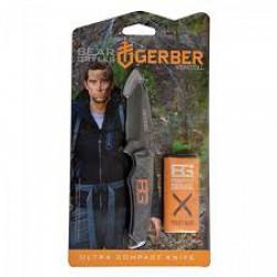 Gerber - Bear Grylls Ultra compact tőr, tokkal, bliszterben (2231001516) - Gerber termékek - Egyéb ajándéktárgyak