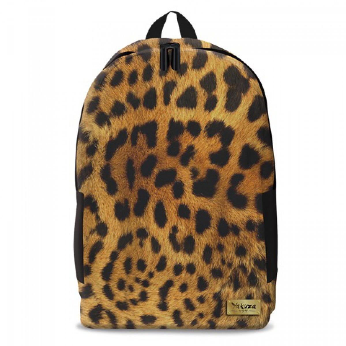 3952068630b6 YAKUZA leopard hátizsák - nagy Táska, sulis felszerelés - Táska ...