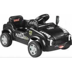 Dolu Pedálos bébi autó (fekete) - Járművek - Járművek Dolu