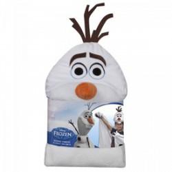 Jégvarázs Olaf kesztyűs és kapucnis plüss takaró - 100x100 cm - Plüss és állat,-mesefigurák - Bébijátékok