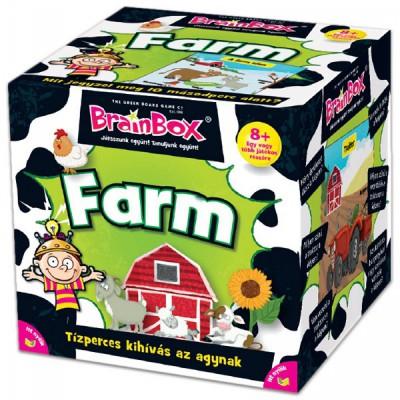Brainbox Farm társasjáték - Brainbox társasjátékok kicsiknek