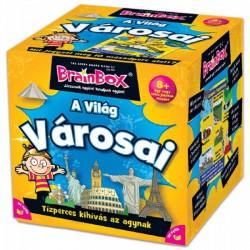 Brainbox A világ városai társasjáték - Brainbox társasjátékok kicsiknek - Brainbox társasjátékok kicsiknek Brainbox