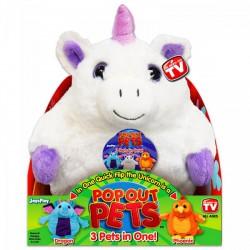 Pop out pets Fantázia - Főnix, Sárkány, Egyszarvú - POP Out Pets játékok - Plüss és állat,-mesefigurák Pop out pets