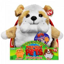 Pop out pets Kutyák - Bulldog, Golden Labrador, Beagle - POP Out Pets játékok - Plüss és állat,-mesefigurák Pop out pets