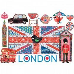 Ravensburger - Puzzle 1000 db - London Játék - Kirakók, puzzle-ok