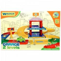 Wader - Kid Cars 3D kétszintes parkolóház - Wader játékok - Bébijátékok