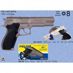 Smith and Wesson patronos pisztoly - játék Játék