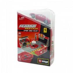 Bburago - Ferrari 1:43 Race & Play Open and Play játékszett 1. - Burago autós szettek, autók - Burago autós szettek, autók