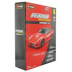 Bburago - Ferrari 599XX 1:43 Race & Play Assembly Kit szett - Burago autós szettek, autók - Burago autós szettek, autók
