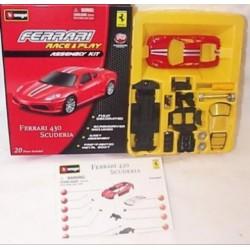 Bburago - Ferrari 430 Scuderia 1:43 Race & Play Assembly Kit szett - Burago autós szettek, autók - Burago autós szettek, autók